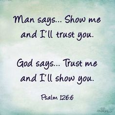 Letting Go For God