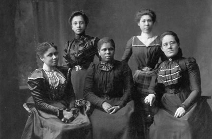 An African American chapter of the Suffrage Women's League